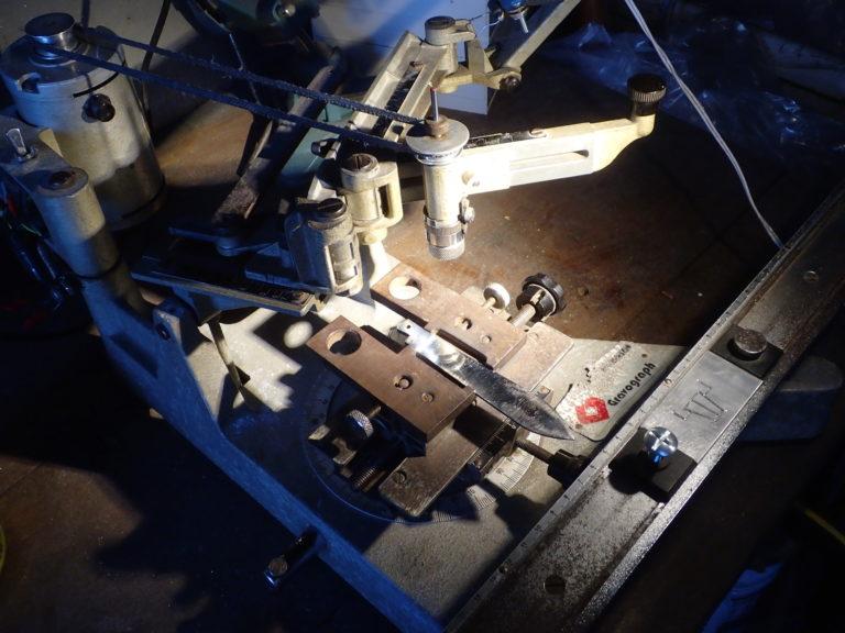 pantographe mécanique pour gravage (gravograph)