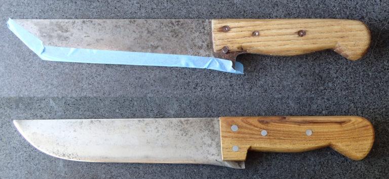 restauration de manche de couteau de chef