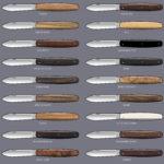 Prévisualisation de matières manche couteau pliant